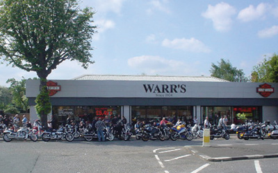 Warr's Mottingham Showroom